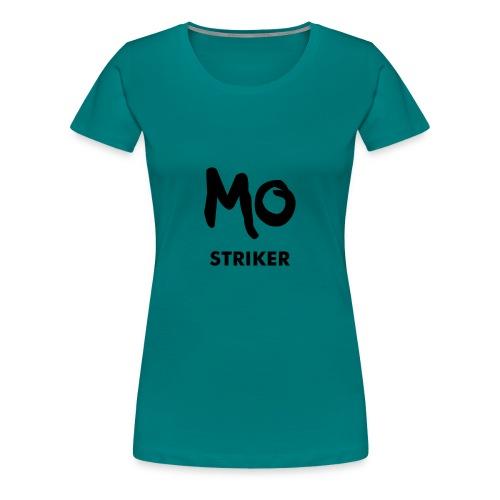 FOOTBALL STRIKER - Frauen Premium T-Shirt