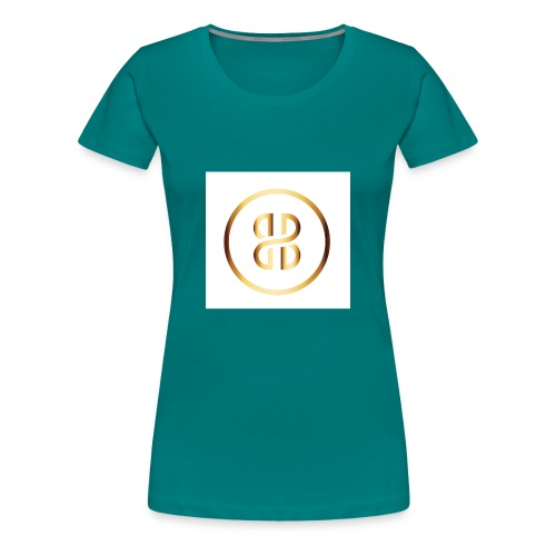 BKI logo circle - Women's Premium T-Shirt