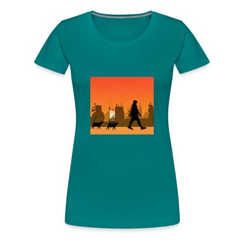 Gaturbe-Ciudad - Camiseta premium mujer