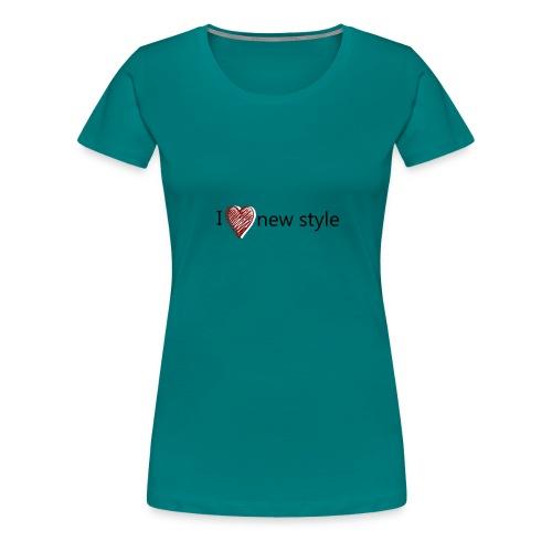 new style - Frauen Premium T-Shirt