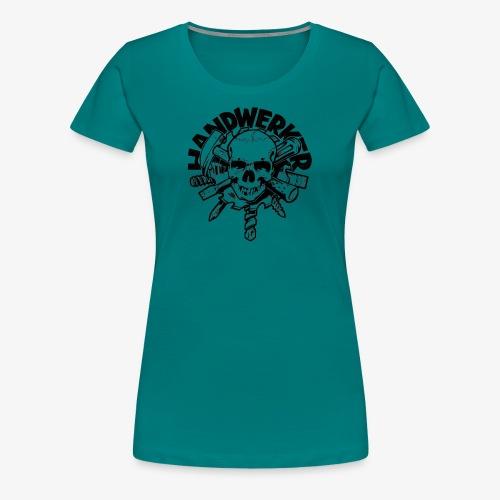 Handwerker Skull'n'Tools - Frauen Premium T-Shirt