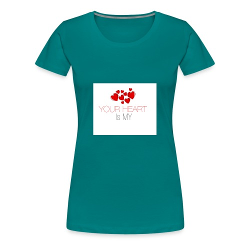 heart - Koszulka damska Premium