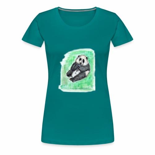Scruffy panda - Women's Premium T-Shirt