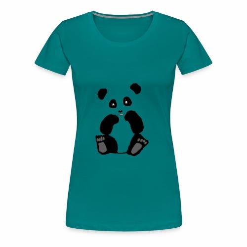 Panda - Frauen Premium T-Shirt