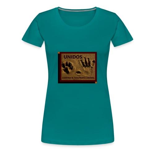 NO AL MALTRATO ANIMAL - Camiseta premium mujer