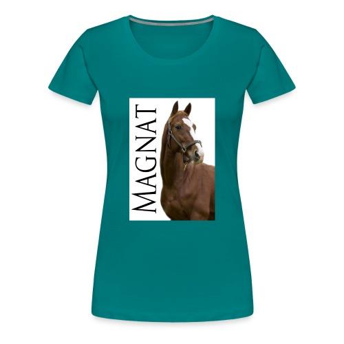 Magnat fanipaita miesten valkoinen - Naisten premium t-paita
