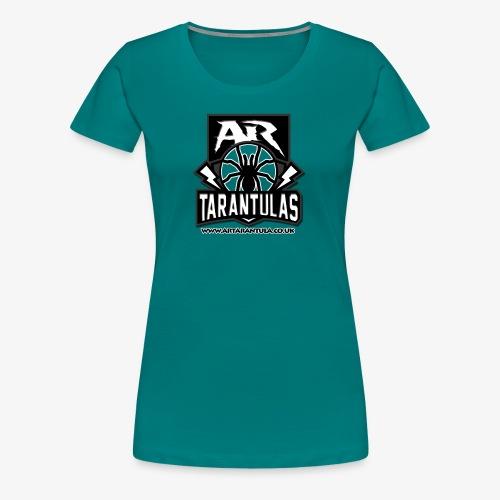BW AR Tarantula logo - Women's Premium T-Shirt