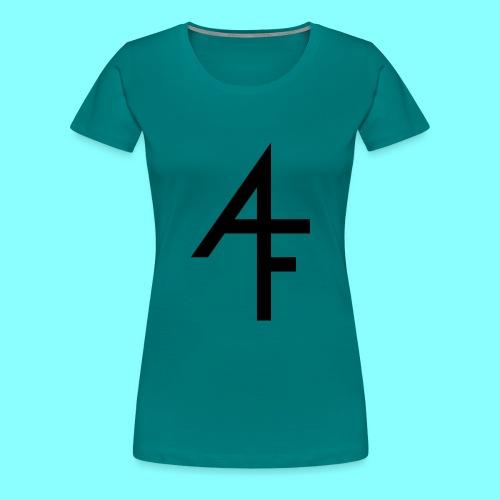 Abstract Filth logo - Premium T-skjorte for kvinner