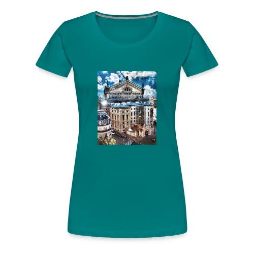 Paris - Dame premium T-shirt