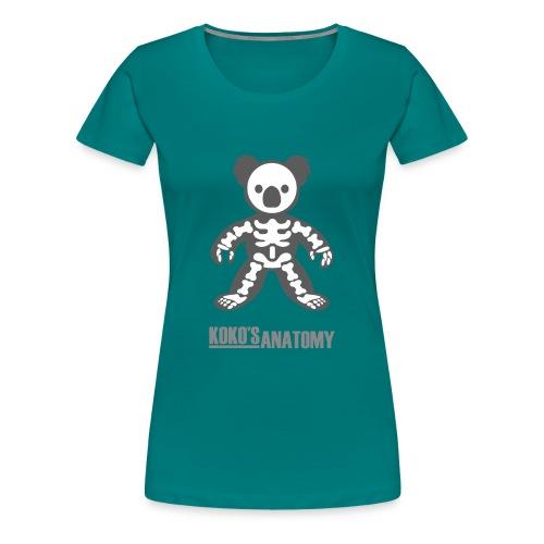 Koko anatomy - Women's Premium T-Shirt