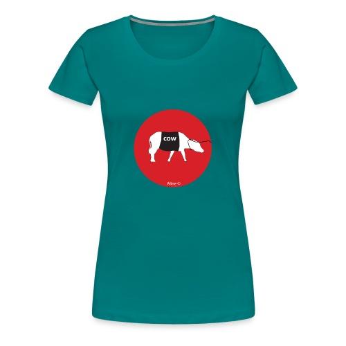 la marche à la vache - T-shirt Premium Femme