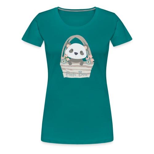 Panda Bear | Panda Beer - Vrouwen Premium T-shirt