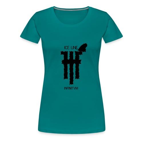 Ice Line - INFINITVM - Maglietta Premium da donna