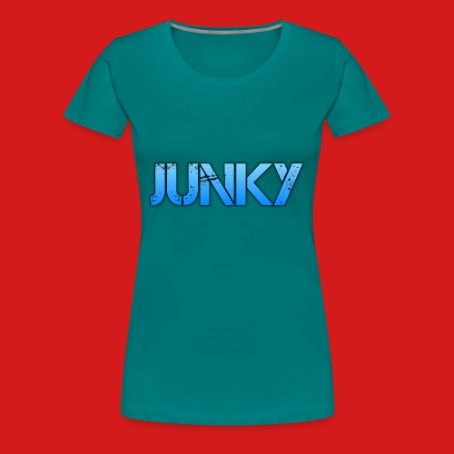 Junky Skate Blue - Women's Premium T-Shirt