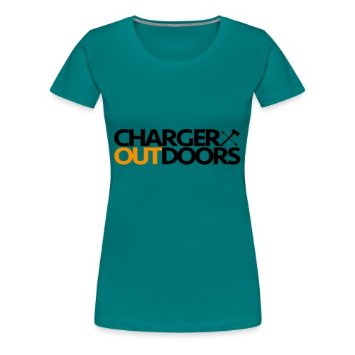 Charger Outdoors Logo - Women's Premium T-Shirt