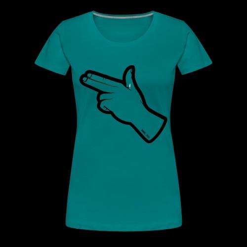 Gunfingers Black - Women's Premium T-Shirt