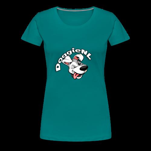 DoggieNL Logo - Vrouwen Premium T-shirt