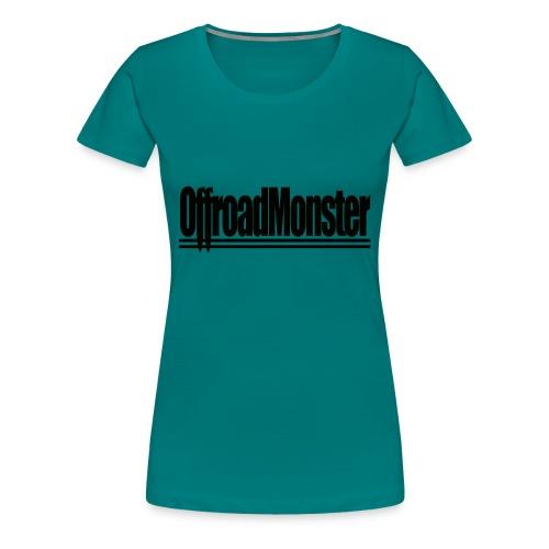 Black Edition - OffroadMonster - Frauen Premium T-Shirt