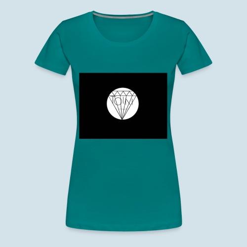 Toin clothing logo - Vrouwen Premium T-shirt