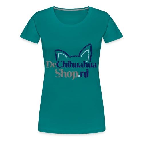 De Chihuahua Shop Logo - Vrouwen Premium T-shirt