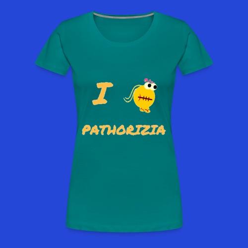 Love Pathorizia - Maglietta Premium da donna