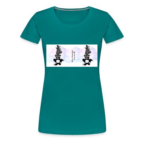 Alice in wonderland - La locura del sombrerero - Camiseta premium mujer