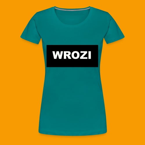 WROZI hat - Women's Premium T-Shirt