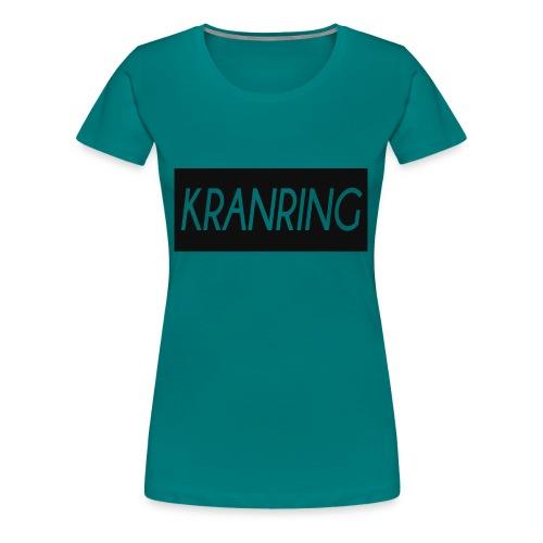 Kranring_Shirt_Logo - Premium-T-shirt dam