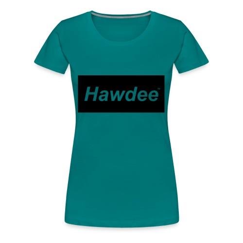 hawdee_logo_original - Women's Premium T-Shirt