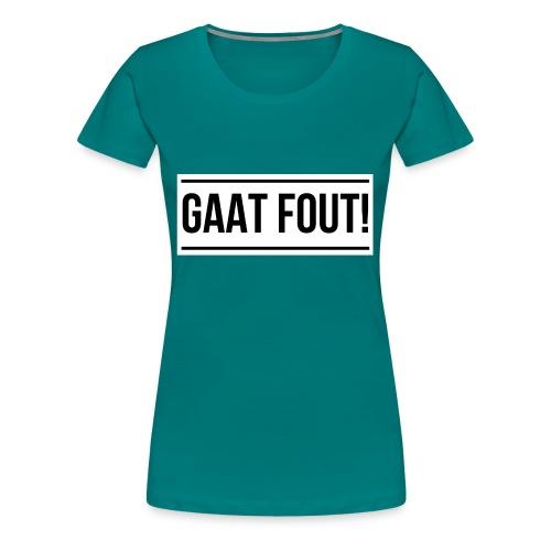 Wit shirt [KIND] - Vrouwen Premium T-shirt