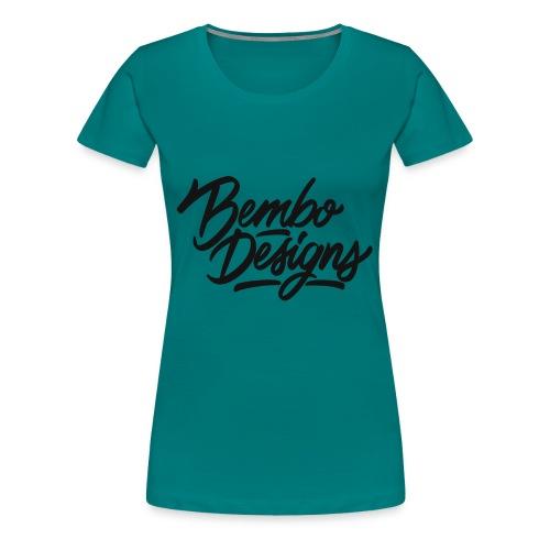 White Bembo Designs Tshirt - Women's Premium T-Shirt