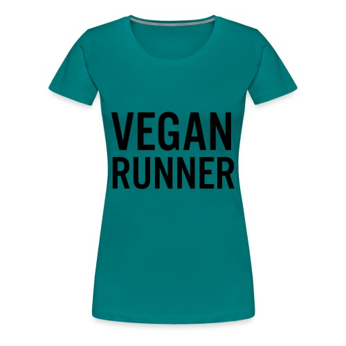 VEGAN RUNNER LADIES ORGANIC TANK TOP - Premium-T-shirt dam