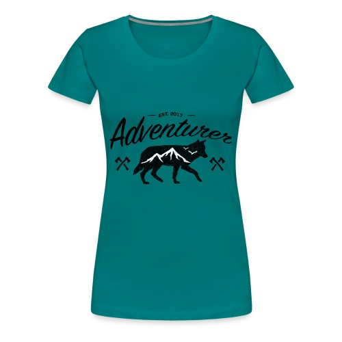 Adventurer Original - Premium T-skjorte for kvinner