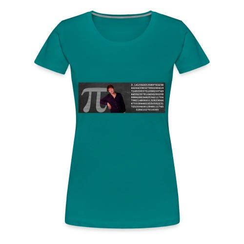 Pi-muggen. Glöm aldrig mer en decimal! - Premium-T-shirt dam