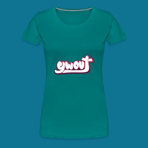 T-shirt (tienermaten) - Vrouwen Premium T-shirt