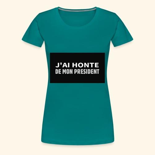 J'ai vraiment honte de chez honte - T-shirt Premium Femme
