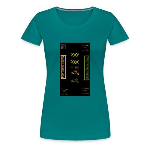 Malthe Würfel - Dame premium T-shirt