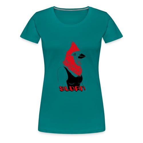 Sloan Human Bird - Frauen Premium T-Shirt