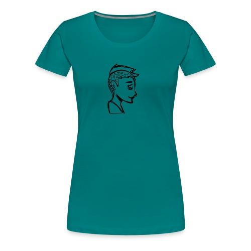 Little boy - T-shirt Premium Femme
