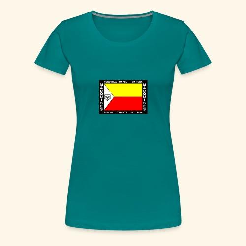 Drapeau des marquises - T-shirt Premium Femme