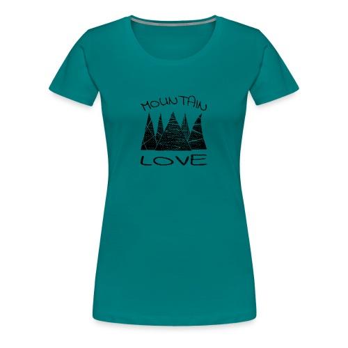 Outdoor Berge Mountain Love - Frauen Premium T-Shirt