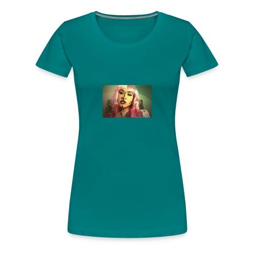 cómic face - Camiseta premium mujer