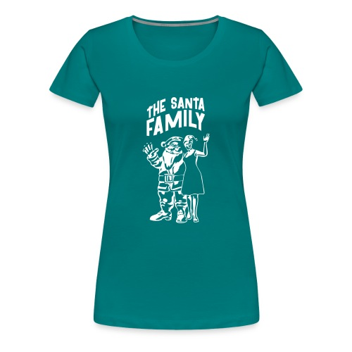 The Santa Family - Weihnachtsmann T-Shirts - Comic - Frauen Premium T-Shirt