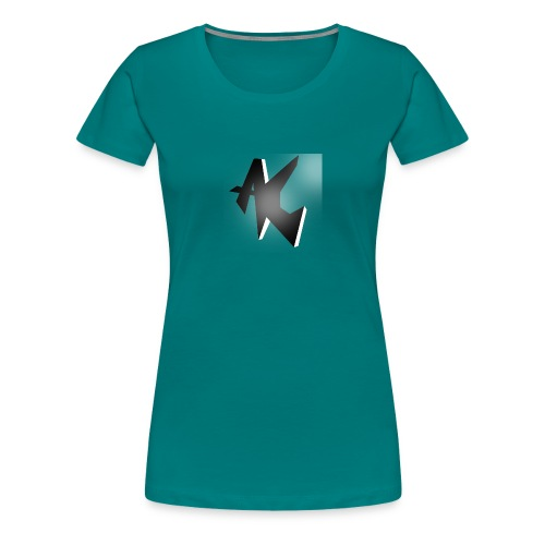 Emblem - Dame premium T-shirt