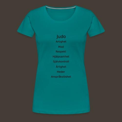 Kodord - Premium-T-shirt dam