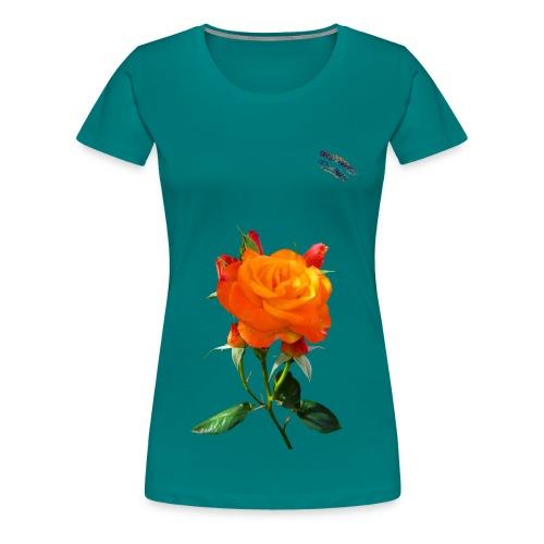 Rose Shirt Randy Design - Frauen Premium T-Shirt