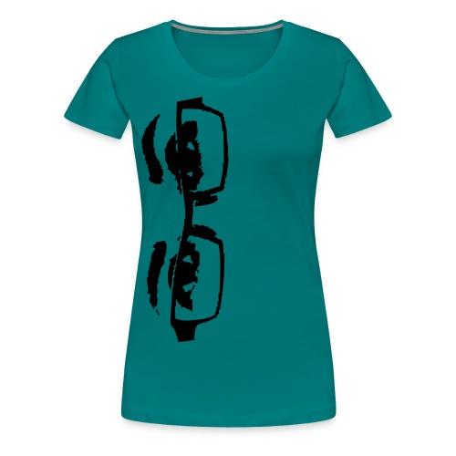 all eyeglasses on me - Frauen Premium T-Shirt