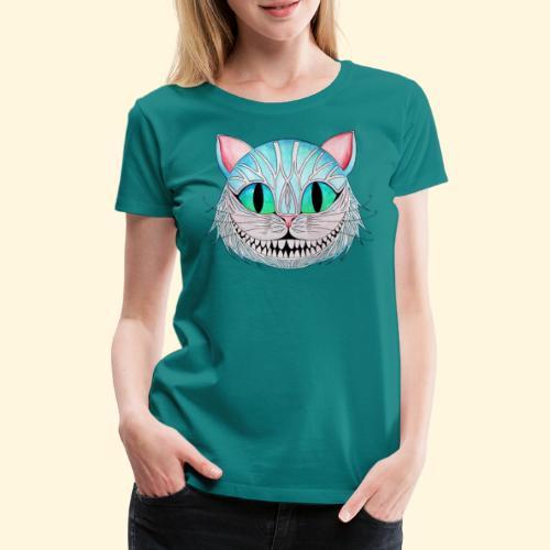 Le Chat de Cheshire - T-shirt Premium Femme