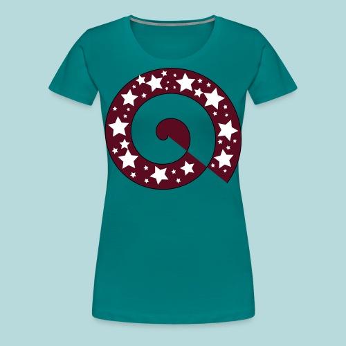 Schnecke V01 - Frauen Premium T-Shirt