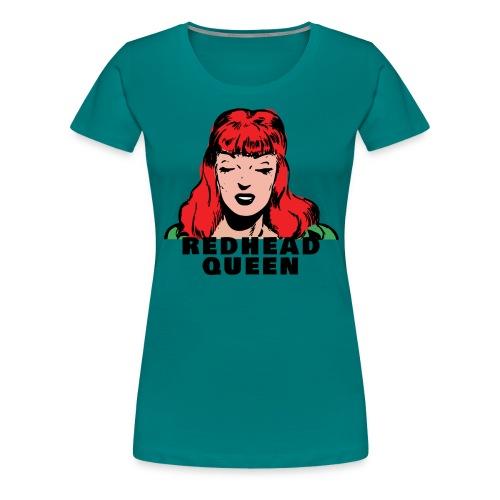 REDHEAD QUEEN - Camiseta premium mujer